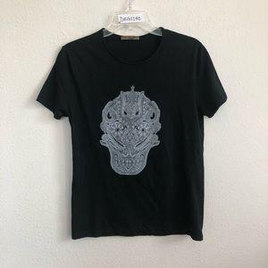 Alexander McQueen Short Sleeve skull print t shirt